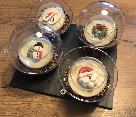 Boule de Noël – Nutella & Chocolat blanc