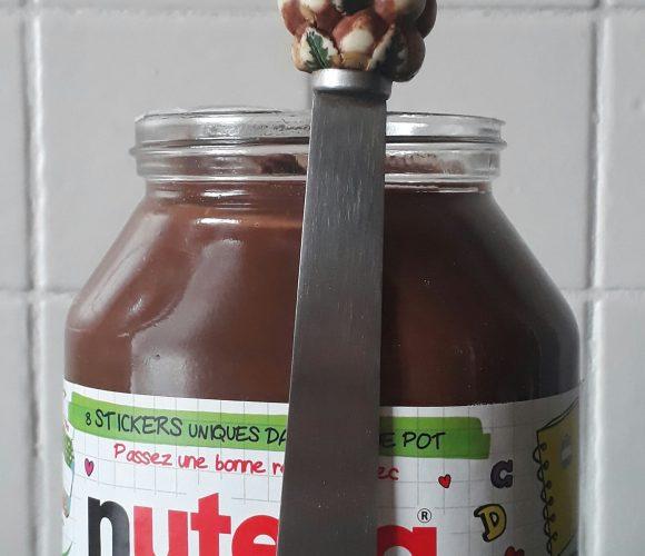 J'ai testé pour vous spatule pour pâtes à tartiner