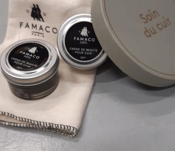 Le soin du cuir Famaco