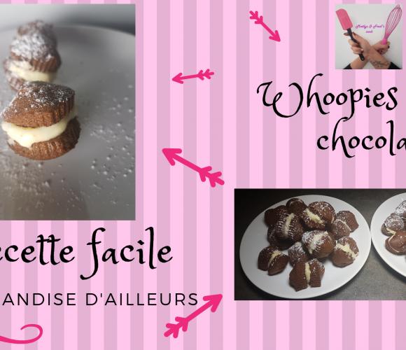 WHOOPIES COEUR CHOCOLAT