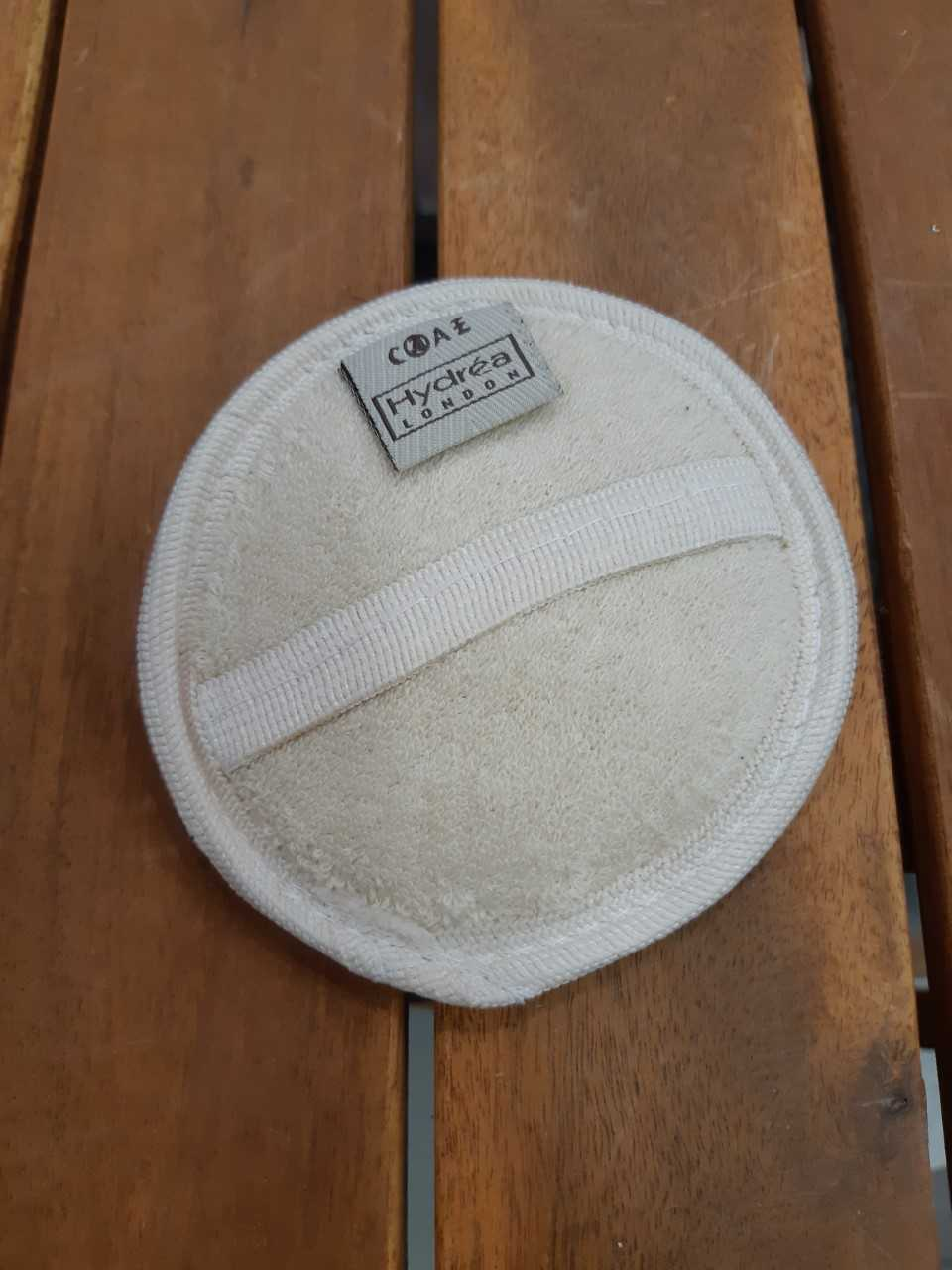 disque exfoliant loofah