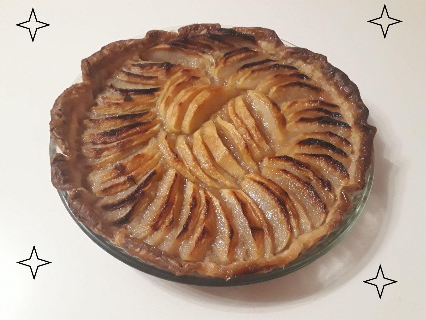 Tarte aux pommes et compote de pommes maison