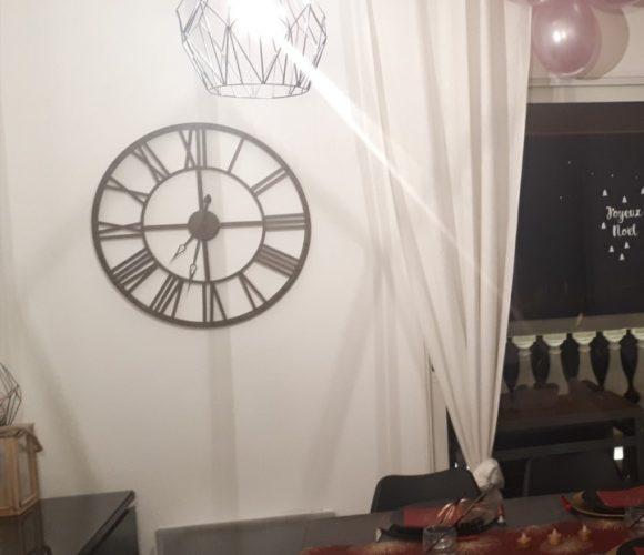 J'ai testé pour vous l'Horloge vintage métal