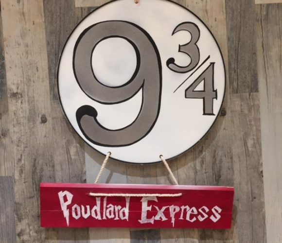 Mon panneau Poudlard Express !