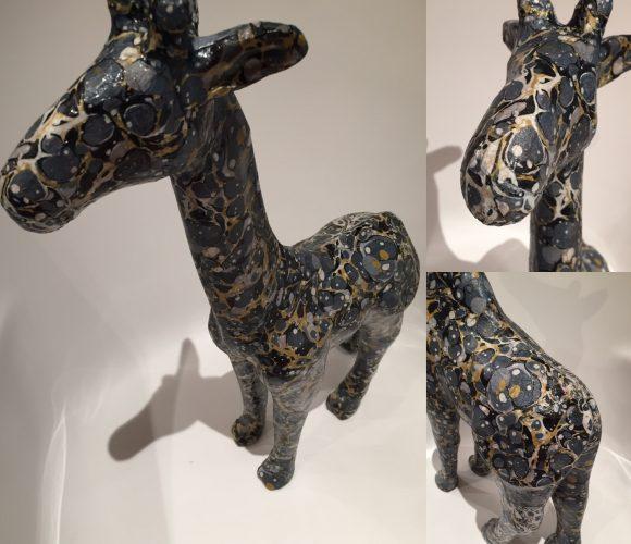 Girafe psychédélique 😂