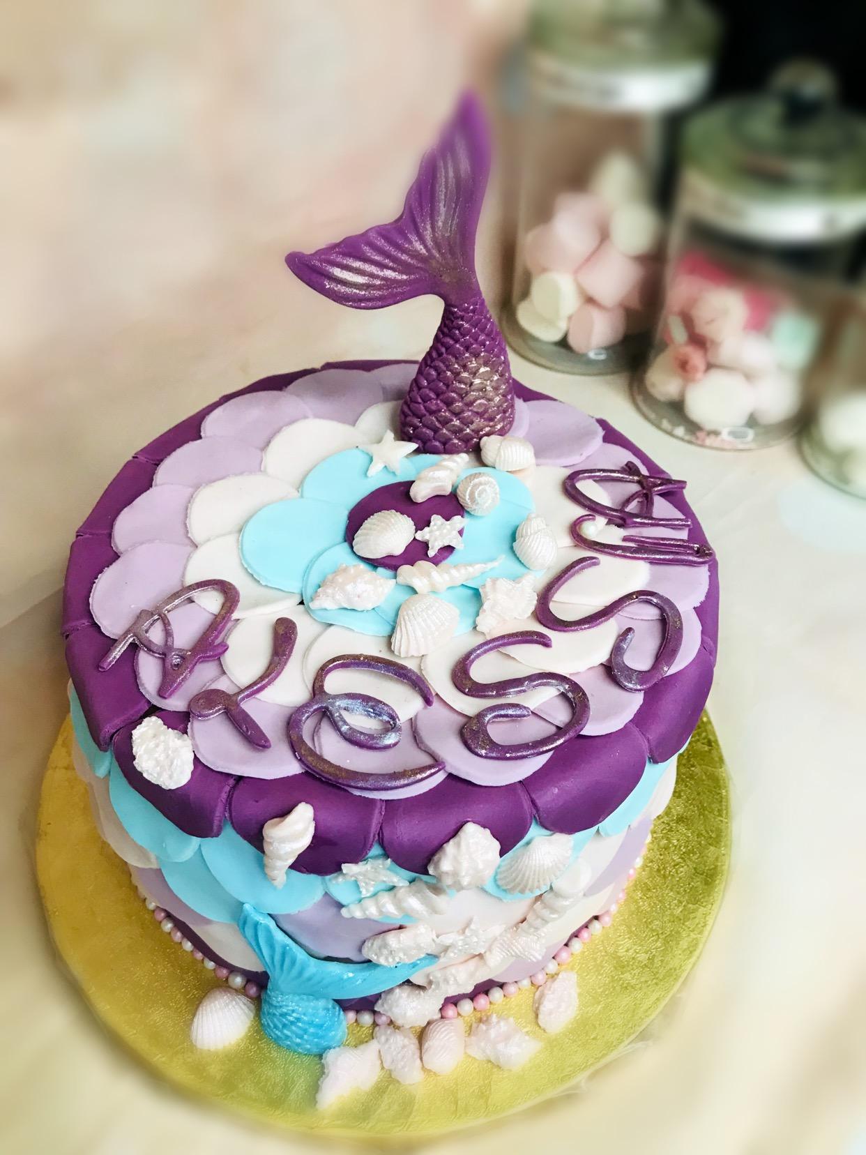 Gâteau Sirène Alessia