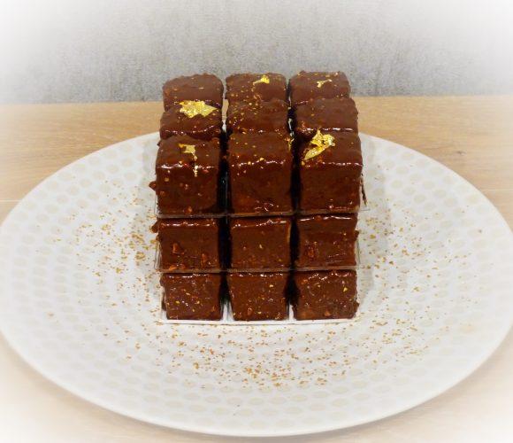 Rubik's cube citron chocolat