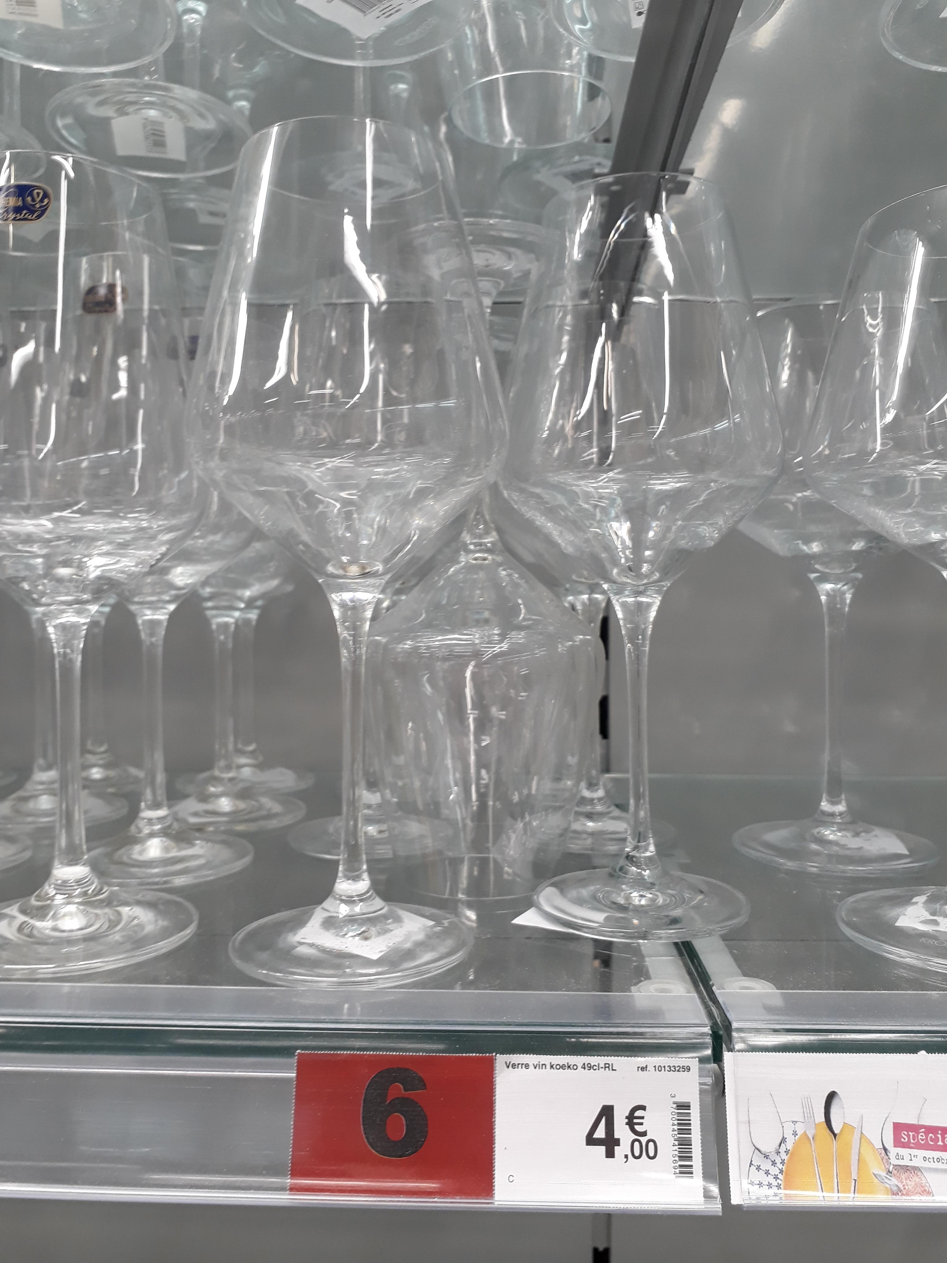 J'ai testé pour vous les Verres vins rouge Keoko 49cl