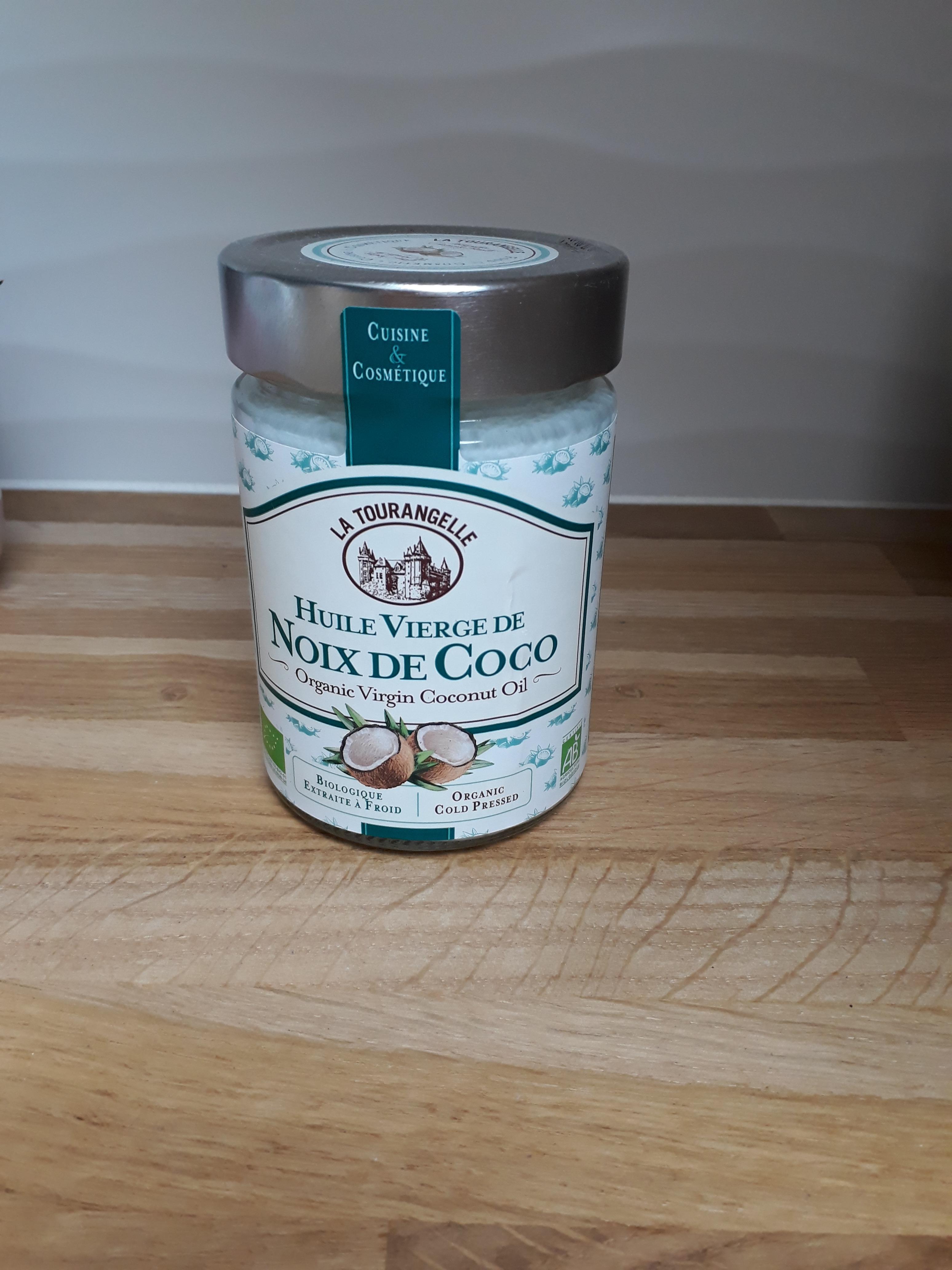 J'ai testé pour vous l'huile vierge noix de coco bio