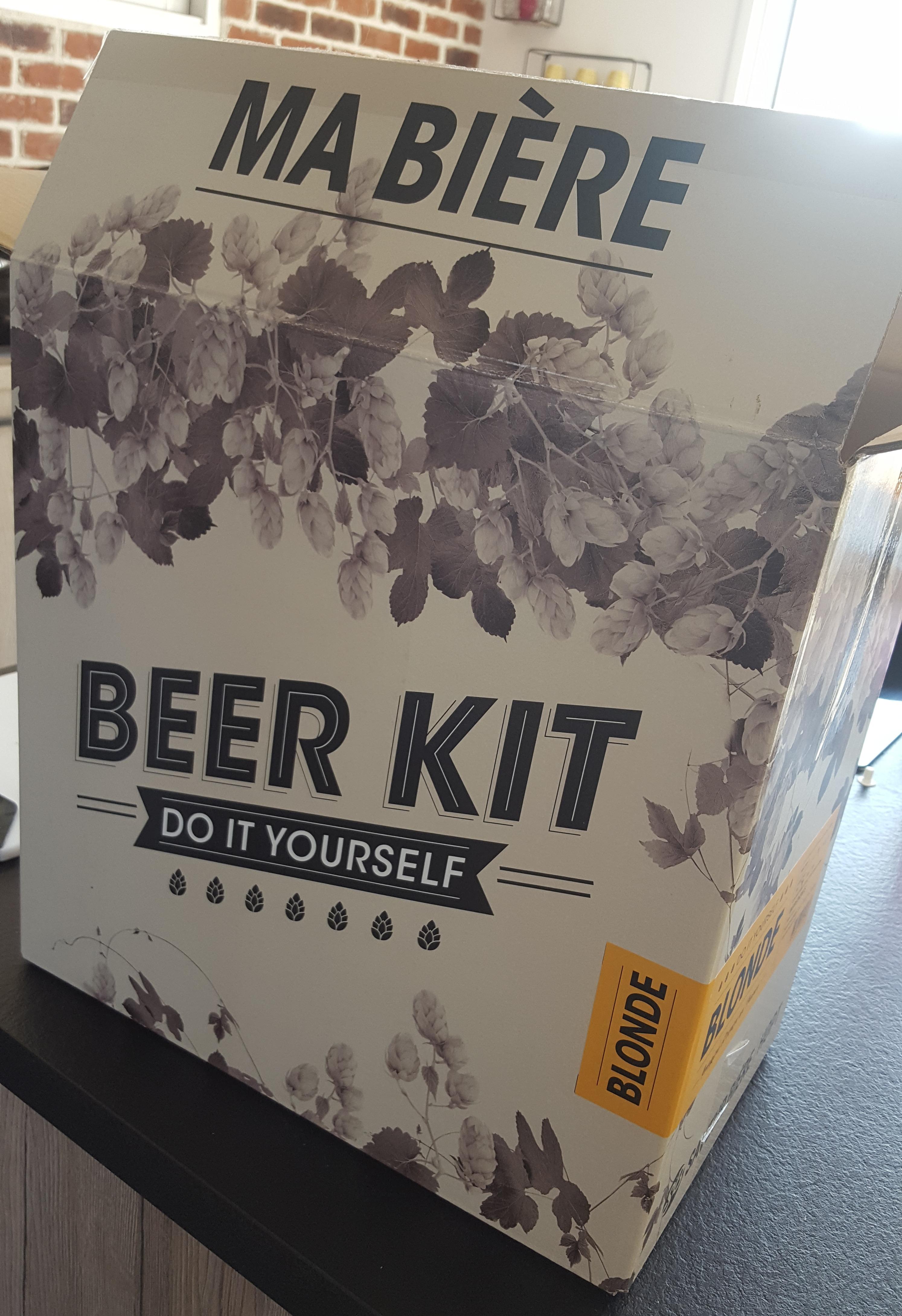 J'ai testé pour vous le kit à bière blonde Saveur Bière