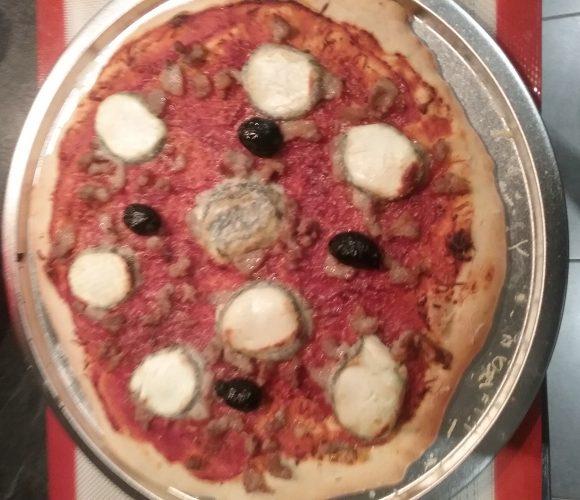 J'ai testé pour vous plaque  pizza en acier étamé