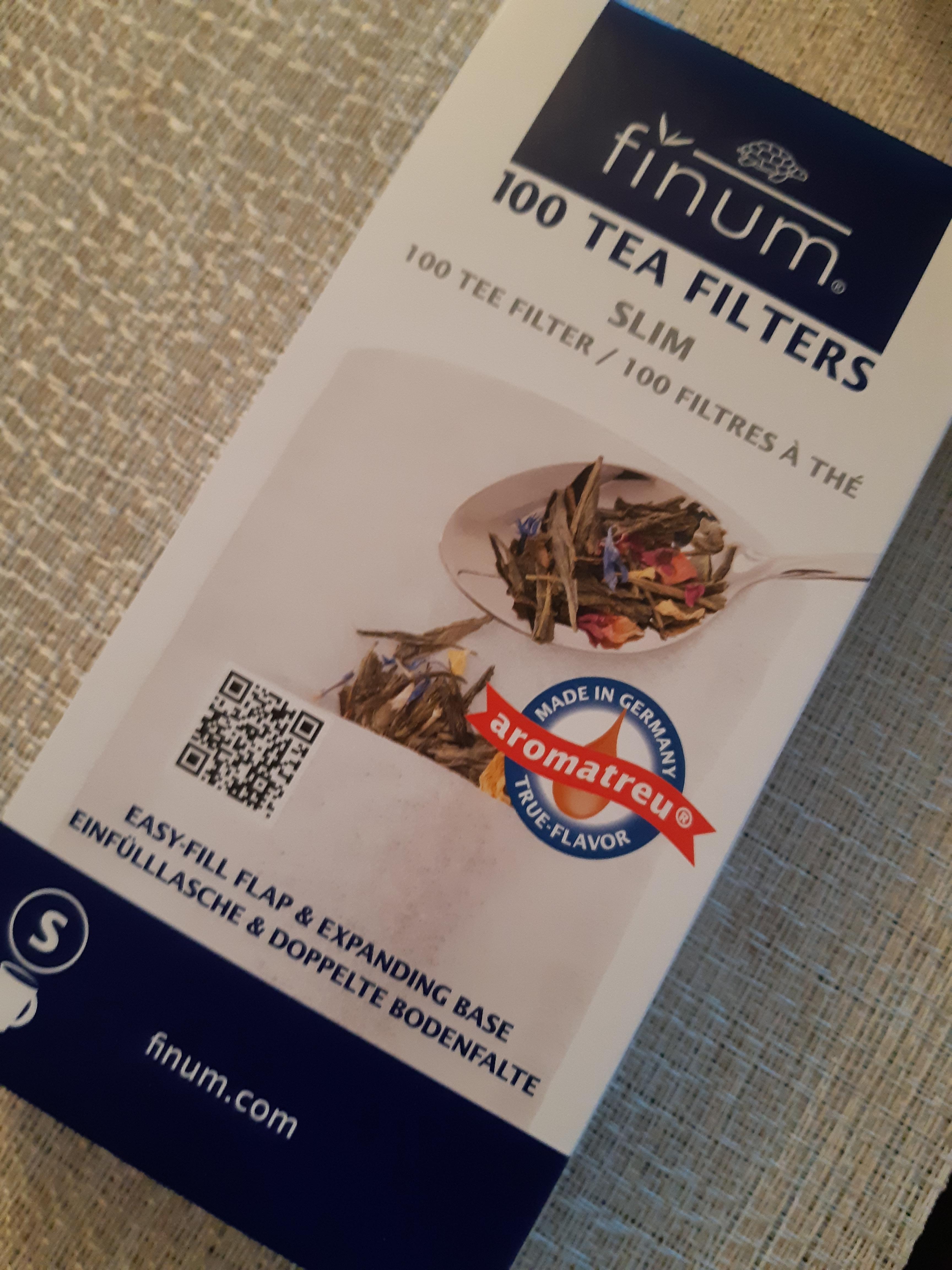 100 Filtres à thé