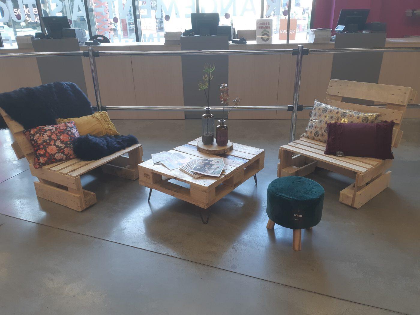 J'ai testé pour vous l'atelier meuble en palette