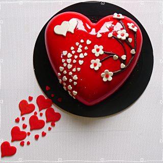 Cœur 'Sakura' de la St-Valentin