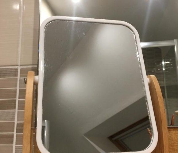 J'ai testé pour vous le miroir scandinave blanc