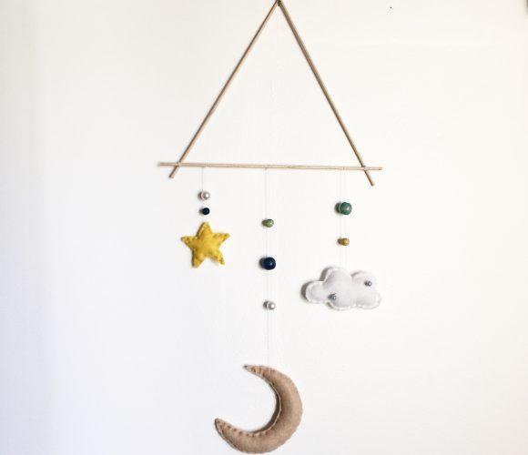 DIY mobile chambre bébé