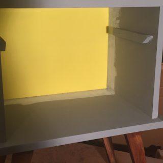 J'ai testé pour vous la peinture little shop sigmund jaune