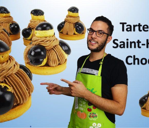 TARTELETTES SAINT-HONORE CHOCOLAT