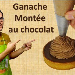 GANACHE MONTÉE AU CHOCOLAT NOIR