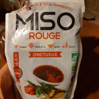 La sauce Miso rouge