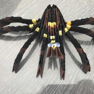 Mon origami modulaire ! Version araignée