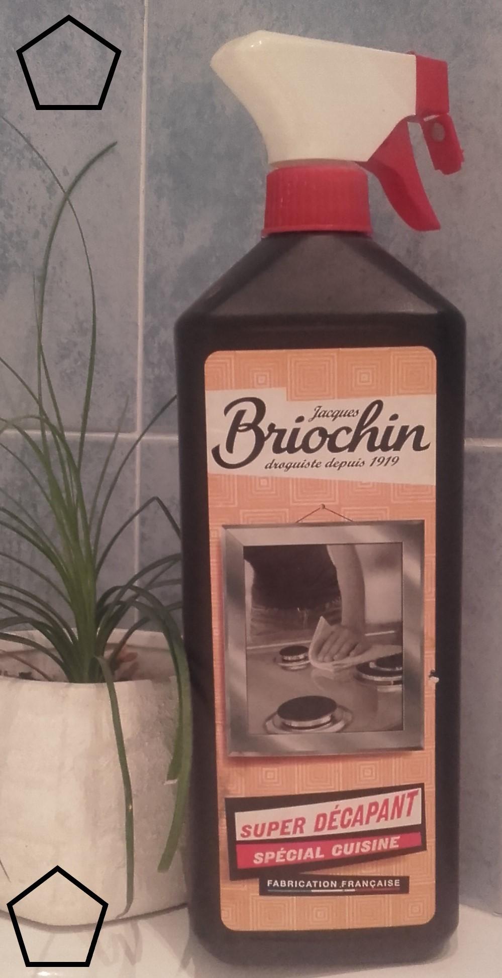 J'ai testé pour vous bRIOCHIN - Nettoyant pour cuisine super décapant