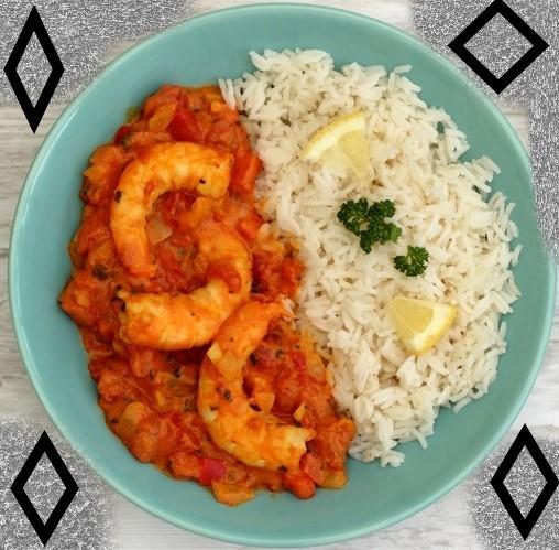 recette du curry aux crevettes