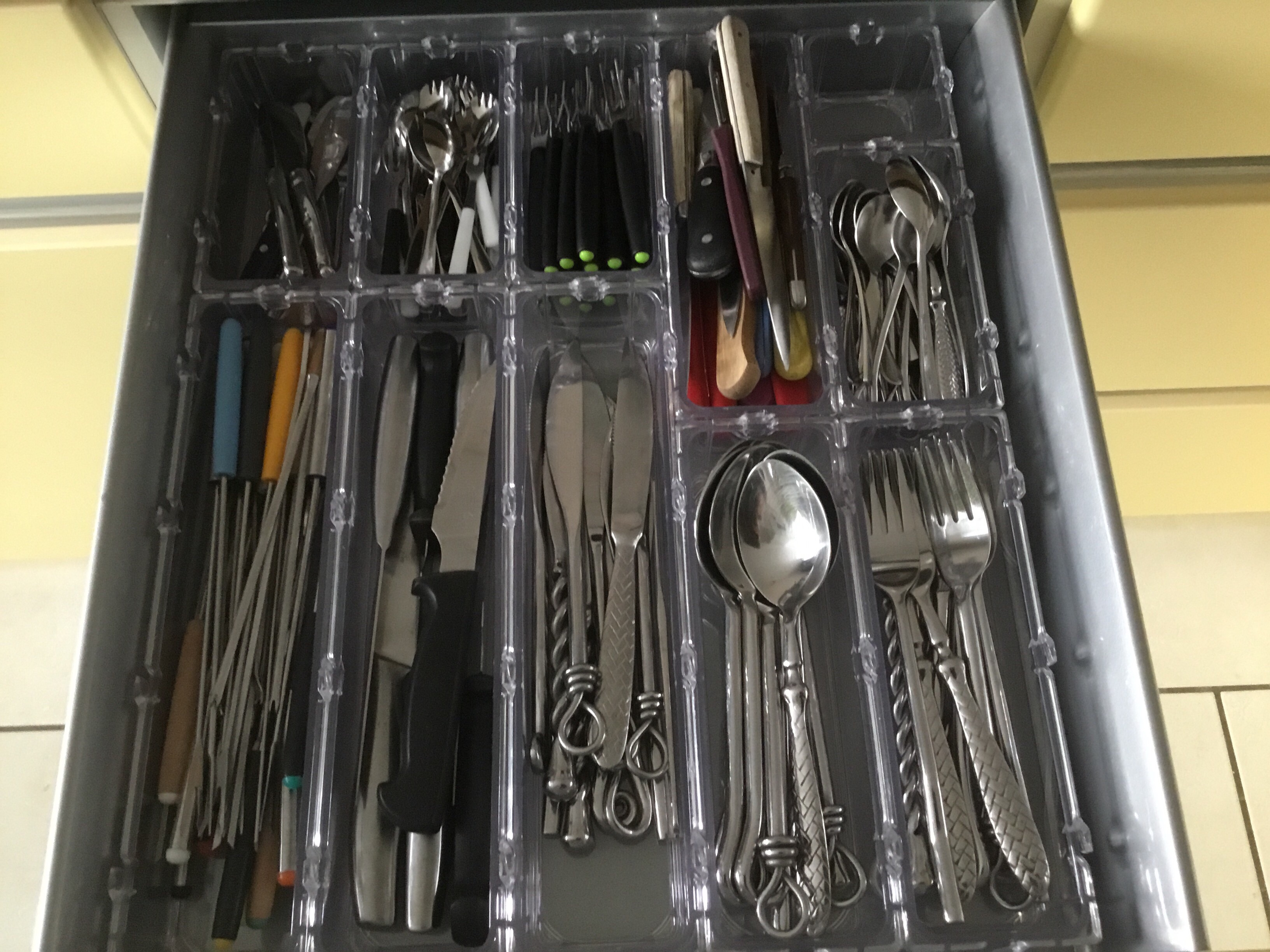Mes tiroirs enfin rangés