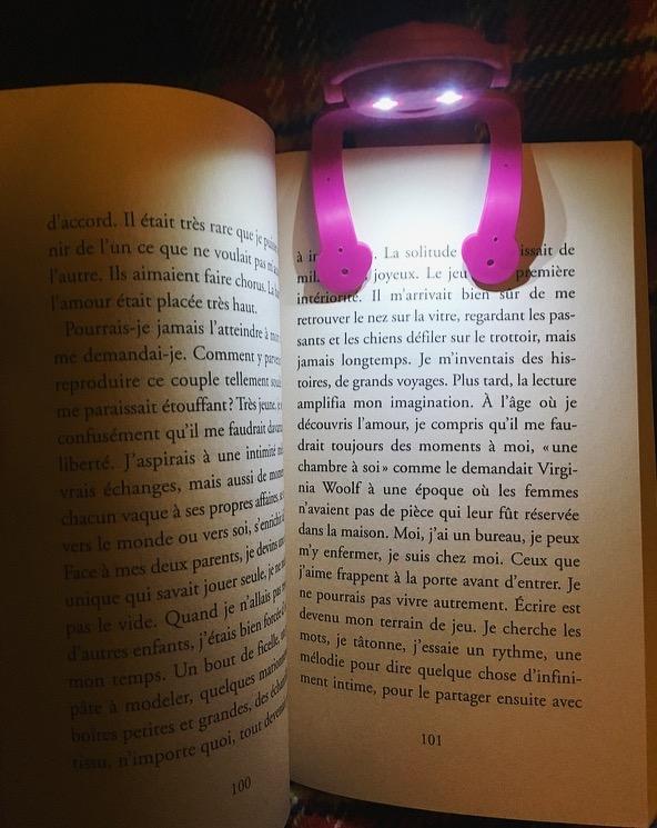 J'ai testé pour vous la lampe de lecture flexible