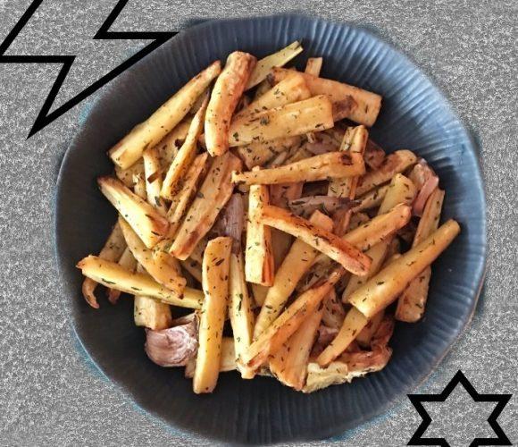 Frites de panais…légumes oubliés