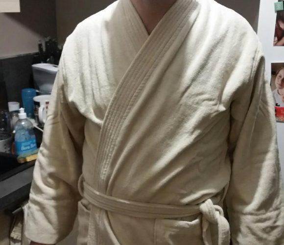 Mon peignoir pour homme MAOM en coton éponge