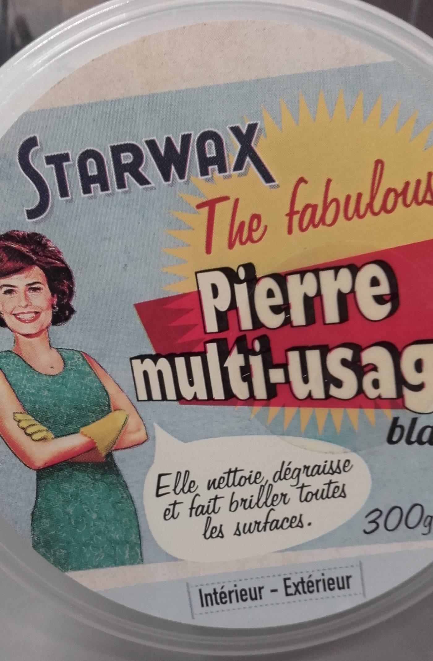 J'ai testé pour vous sTARWAX - Pierre blanche multi-usage