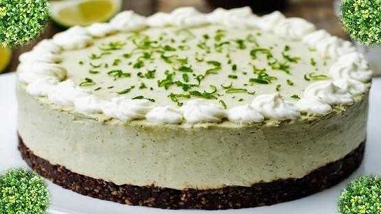Délice à l'avocat –  Gâteau sans cuisson et rapide