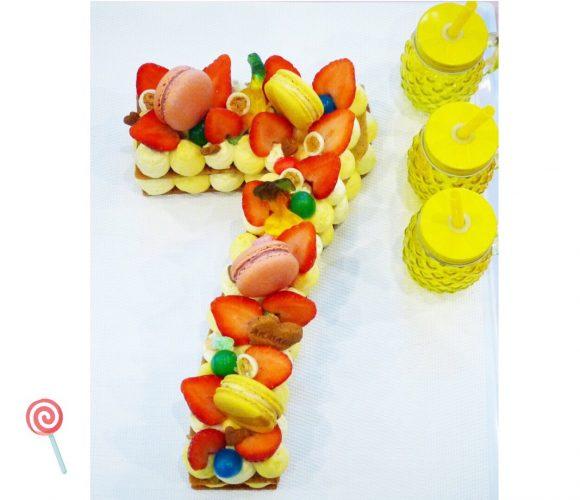 Number cake infiniment yuzu