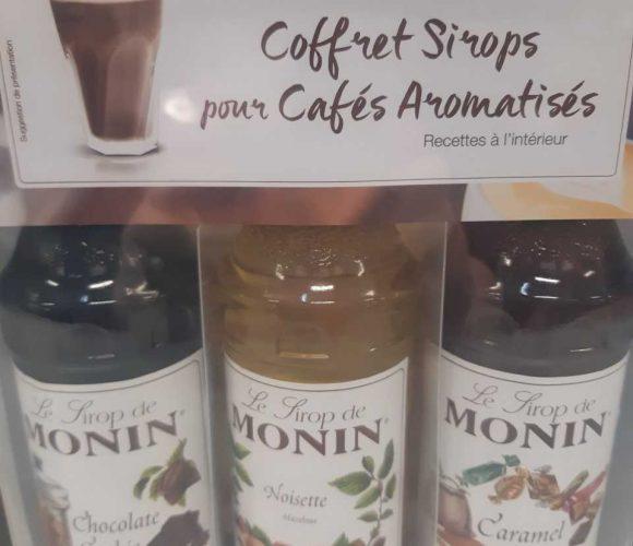 Coffret sirops pour cafés aromatisés
