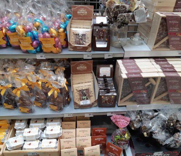 Les chocolats et décors de Pâques sont arrivés