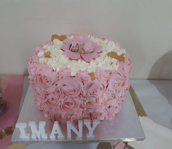 Gâteau 1 an d'une princesse tant attendue