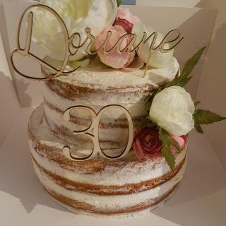 Naked cake Lemon curd / Framboise
