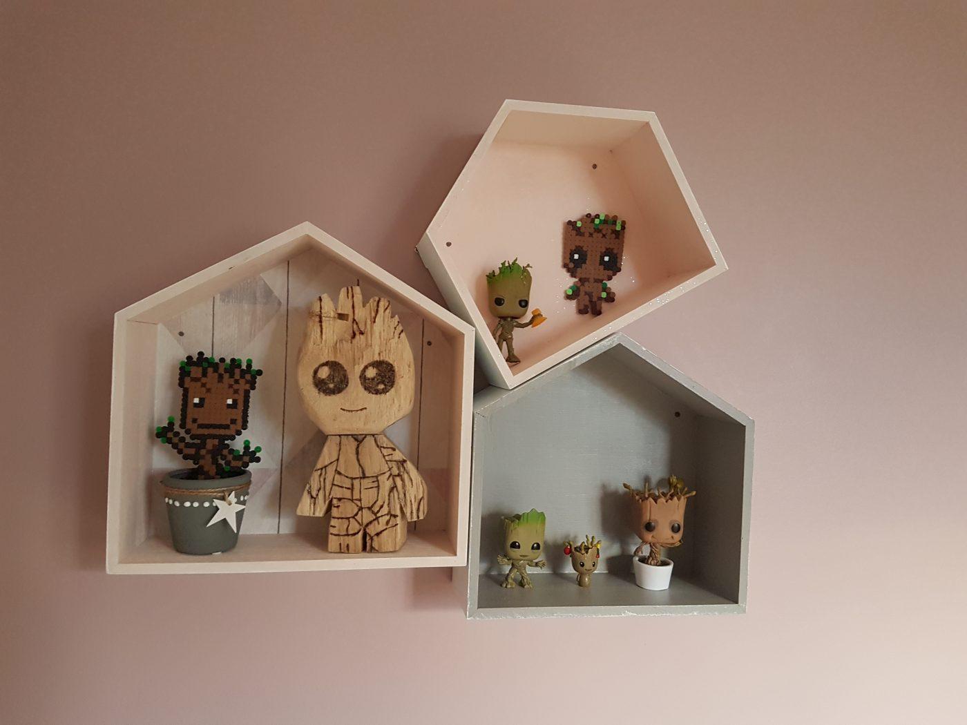 J'ai testé pour vous set 3 étagères maison en bois