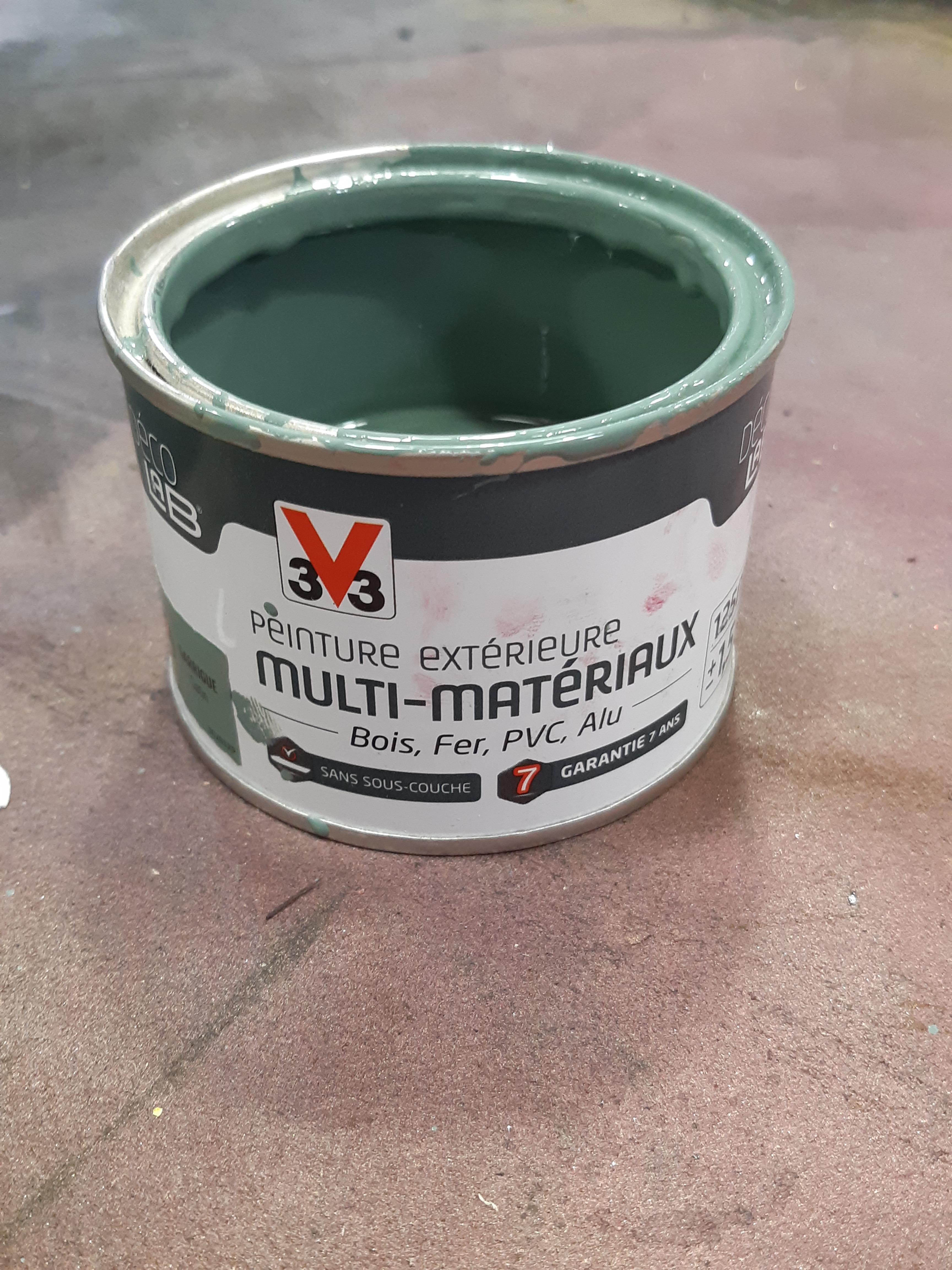 Peinture multi-matériaux extérieur V33, garrigue