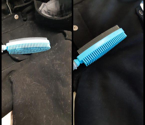 J'ai testé pour vous … la brosse à textile en caoutchouc de chez Starwax