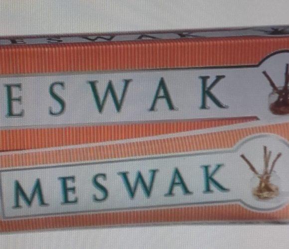 J'ai testé pour vous dentifrice Meswak naturel