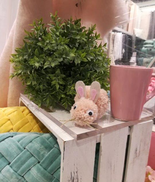 Des pompons lapins trop mignons !!!
