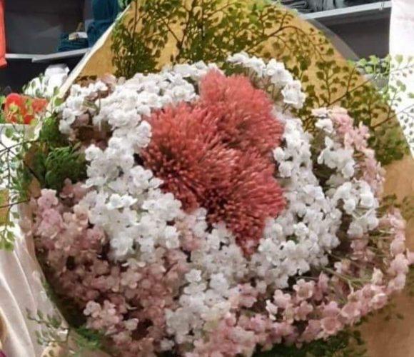 Je crée mon bouquet de fleurs