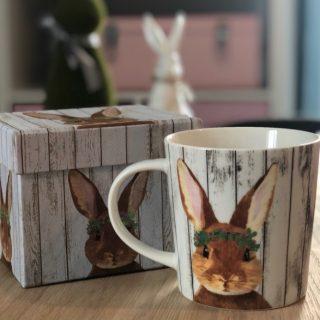 J'ai craqué pour cette adorable tasse lapin !