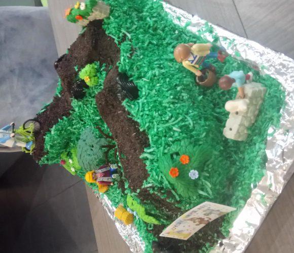Gâteau thème BMX