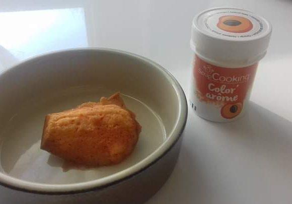 J'ai testé pour vous color arome abricot de chez srapcooking