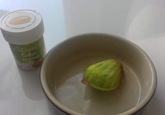 J'ai testé pour vous color arome pistache  de scrapcooking