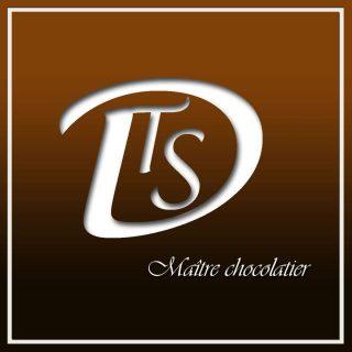 Ganache des bonbons chocolat