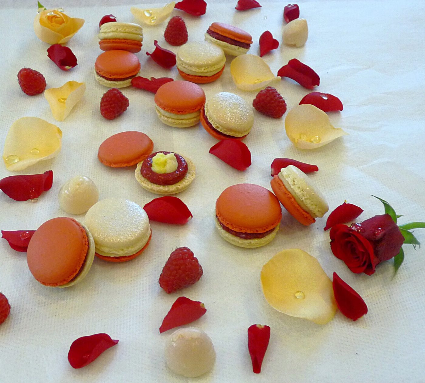 Macarons façon Ispahan